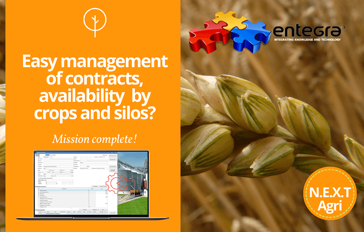 Grain trading – complex processes – easy to manage with N.E.X.T.